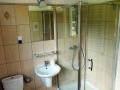 Łazienka w pensjonacie, wysoki standard wykończenia