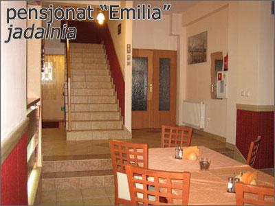 Jadalnia w Pensjonacie Emilia